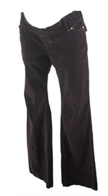 Chocolate GAP Maternity Corduroy Boot Cut Maternity Pants (Gently Used - Size 27/4)