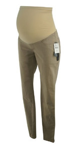 *New*  Beige A Pea In The Pod Maternity Full Panel Super Skinny Jeans