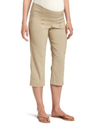 *New* Beige Japanese Weekend OK Sailor Career Capri Pants