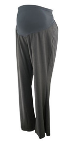 *New* Gray Motherhood Maternity Modern Flare Plus Size Career Maternity Pants (Size XXX-Large)