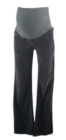 Neutral Gray AG Adriano Goldschmied for A Pea in the Pod Collection Maternity Boot Cut Corduroy Maternity Pants (Gently Used - Size 29)