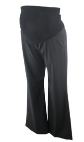 *New* Black A Pea in the Pod Maternity Classic Career Maternity Trouser (Size X-Large)