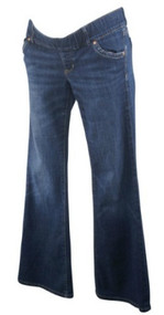 Dark Denim GAP Maternity Stretch Boot Cut Maternity Jeans (Gently Used - Size 26/2)