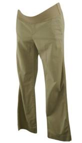 Tan GAP Maternity Low Panel Casual Khaki Maternity Pants (Gently Used - Size 6)