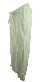 Cream A Pea in the Pod Maternity Light Summer Maternity Pants with Tie String Waist (Like New - Size Medium)