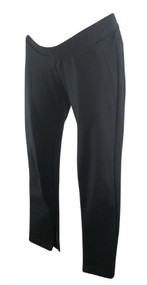 Black GAP Maternity Straight Leg Casual Maternity Pants (Like New - Size Medium)