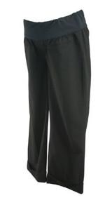 Black GAP Maternity Cropped Casual Maternity Pants (Like New - Size 4)