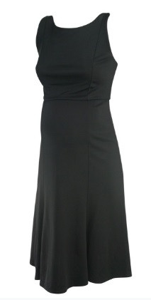 ed0c56b14350d ... *New* Black A Pea in the Pod Maternity Sleeveless Boot Neck Special  Occasion Maternity Dress (Size Medium). Image 1