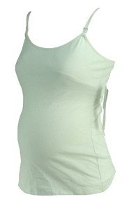 *NEW* White A Pea in the Pod Maternity Nursing Camisole (Size Small)
