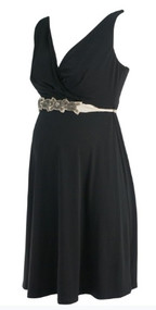 *NEW* Black A Pea in the Pod Maternity Sleeveless Special Occasion Maternity Dress