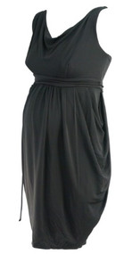 *New* Black A Pea in the Pod Maternity Sleeveless Versatile Maternity Dress