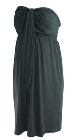 Black A Pea in the Pod Maternity Summer Maternity Dress (Gently Used - Size Medium)