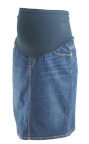 Denim Joe's Jo Jeans for A Pea in the Pod Collection Mini Maternity Skirt (Like New - Size 29)