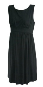 Black Maternal America Casual Summer Sleeveless Dress (Gently Used - Size Medium)