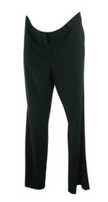 Black A Pea in the Pod Maternity Wide Leg Career Maternity Trousers (Like New - Size Medium)
