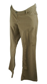 Beige GAP Maternity Low Rise Flare Cut Maternity Pants (Like New - Size 10)