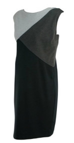 *New* Gray A Pea in the Pod Maternity Sleeveless Career Maternity Dress (Size Large)