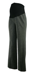 Gray Ann Taylor Loft Maternity Heavy Wool Winter Maternity Pants (Like New - Size 6M)