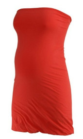 *New* Hot Orange Splendid for A Pea in the Pod Collection Maternity Top (Size Large)