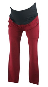 Postbox Red Liverpool Jeans Company for Stitch Fix Maternity Full Panel Cropped Jeans (Like New - Size 8)