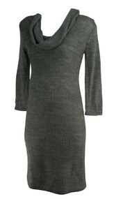 *New* Neutral A Pea in the Pod Maternity Cowl Neck Maternity Sweater Dress (Size Medium)