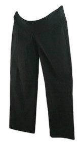 Black JW Japanese Weekend Maternity Casual Demi Panel Maternity Trousers (Like New - Size X-Small)