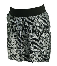 *New* Lavish by Heidi Klum for A Pea in the Pod Collection Maternity Sequenced Mini Skirt (Size Medium)