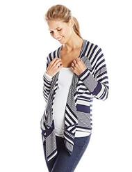Navy Everly Grey Maternity Long Sleeve Grahm Striped Maternity Cardigan (Like New - Size Small/Medium)