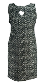 *New* Black and White A Pea in the Pod Maternity Etched Print Career Maternity Dress (Size Small)