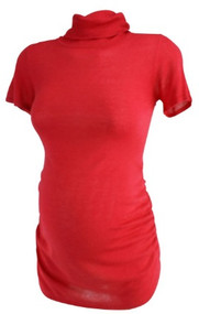 *New* Scarlet A Pea in the Pod Maternity Light Weight Turtleneck Maternity Top (Size Small)