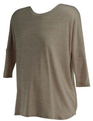 *New* Muted Salmon A Pea in the Pod Maternity High-Low 3/4 Sleeve Maternity Sweater (Size Small)