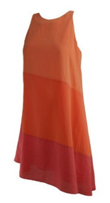 *New* Orange and Pink Ali Ra for A Pea in the Pod Collection Maternity Cocktail Dress (Size Small)