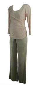 *New* Pink A Pea in the Pod Maternity 2 Piece Sleepwear Nursing Maternity Set (Size Small)
