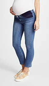 Medium Wash J Brand Maternity Mama J Skinny Maternity Jeans (Like New - Size 25)