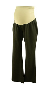 Dark Gray Oh Baby! Maternity by Motherhood Maternity  Boot Cut Pants (Gently Used - Size Large)