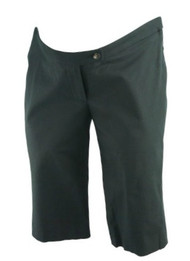 *New* Black Liz Lange Maternity Mini Bermuda Pants (Size 2)