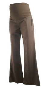 *New* Chocolate Brown Career Maternity Pants by Olian Maternity (Size Small)