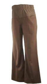 Brown GAP Maternity Casual Maternity Career Pants (Like New - Size 4)