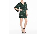 Olvie Green Ella Moss Maternity Jungle Bell Sleeve Dress (Like New - Size Large)