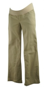 Beige Old Navy Maternity Casual Slim Fit Straight Leg Maternity Pants (Gently Used - Size 4)