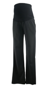 Black Full Panel A Pea in the Pod Maternity Straight Leg Maternity Pants (Gently Used - Size X-Small)