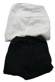 Lot of 2 Motherhood Maternity Shorts Black & White (Gently Used - Size X-Small)