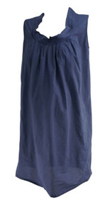 Steel Blue Loyal Hana Maternity Casual Nursing Dress (Like New - Size Small)