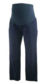Navy Blue A Pea in the Pod Maternity Full Panel Slim Career Maternity Pants (Gently Used - Size Small)