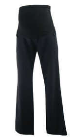 Black Motherhood Maternity Full Panel Casual Career Pants (Gently Used - Size X-Small)