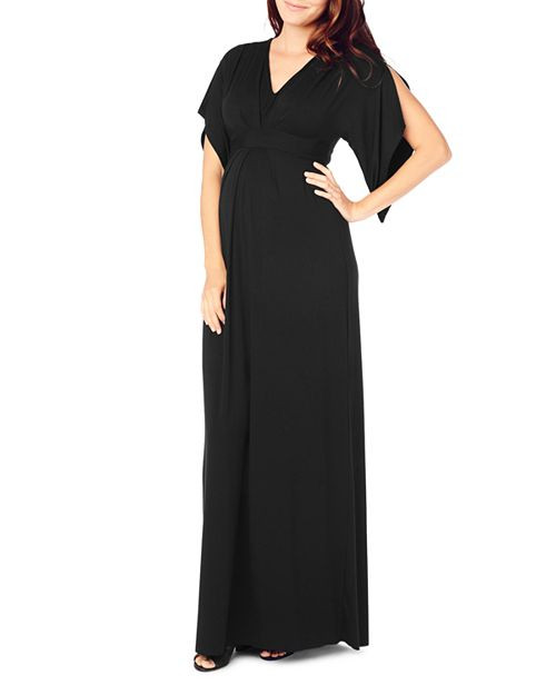 05717763151 Jet Black Ingrid   Isabel Maternity Kimono Maxi Dress (Like New ...
