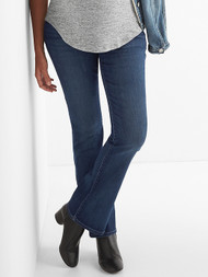 Medium Wash Gap Maternity Full Panel Perfect Boot Cut Jeans (Like New - Size 30R)