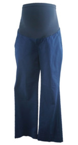Navy A Pea in the Pod Maternity Full Panel Maternity Career Pants (Like New - Size Small)