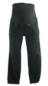 Black Ann Taylor Loft Maternity 3/4 Length Maternity Career Pants (Gently Used - Size 4M)