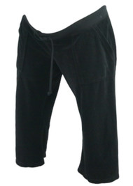 *New* Black Juicy Couture Maternity Capri (Size Large)